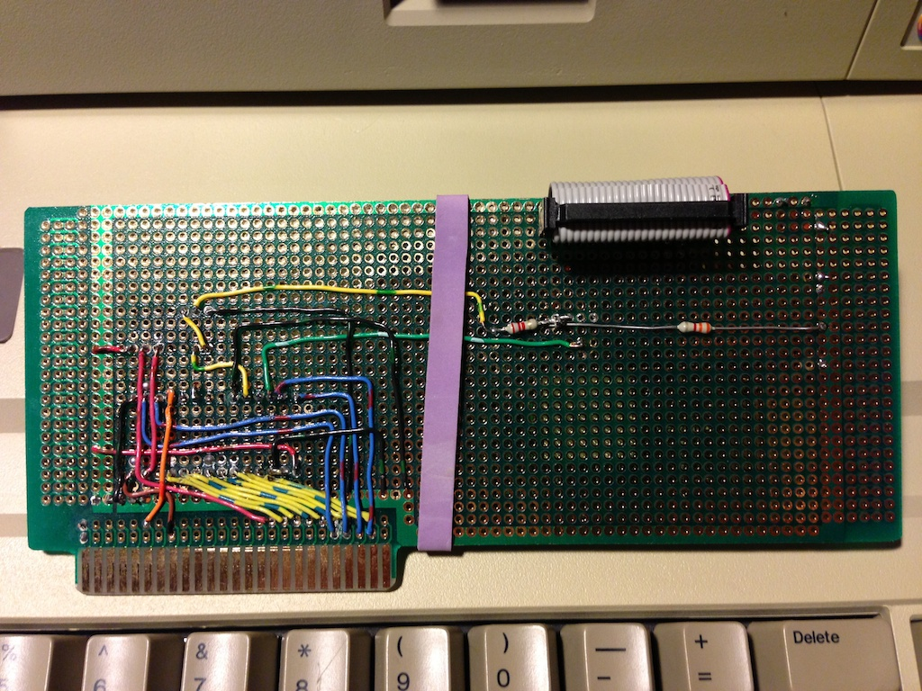 apple ii dave schmenk s projects page page 2 battery cable schematic ribbon cable schematic
