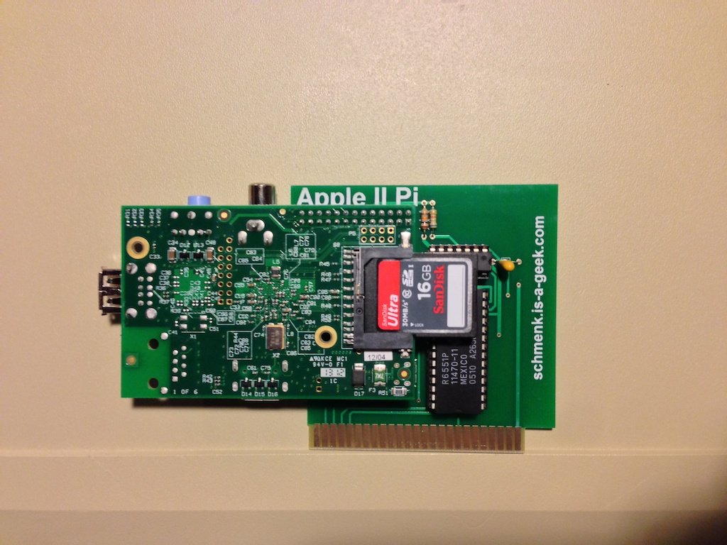 What additional parts are needed to use the Apple II Pi adapter card?